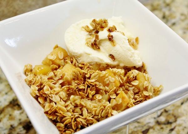 Oatmeal Apple Crisp (gluten Free)