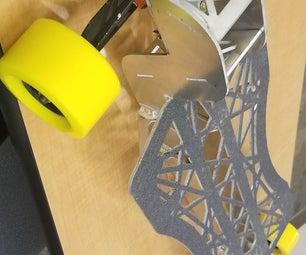 Aluminum Longboard Deck