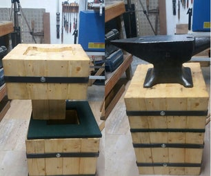 ANVIL STAND, HOW TO MAKE