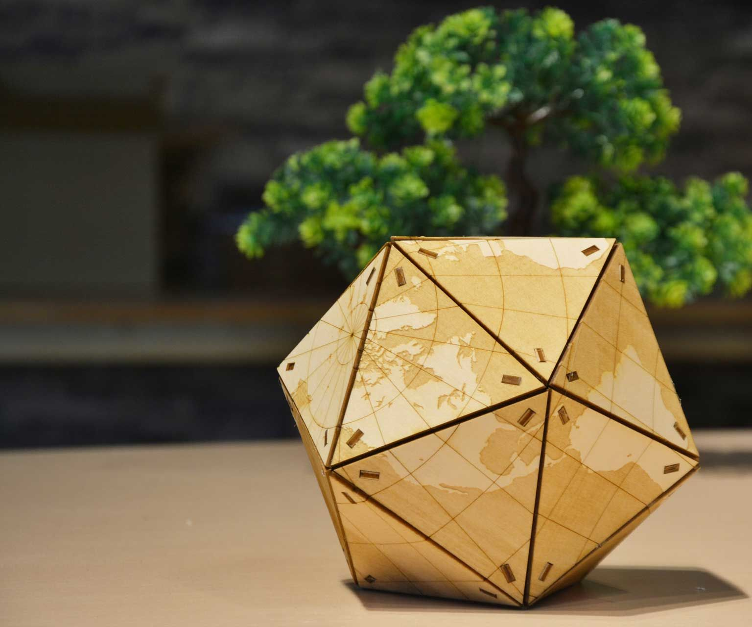 How to Make a Wooden Globe