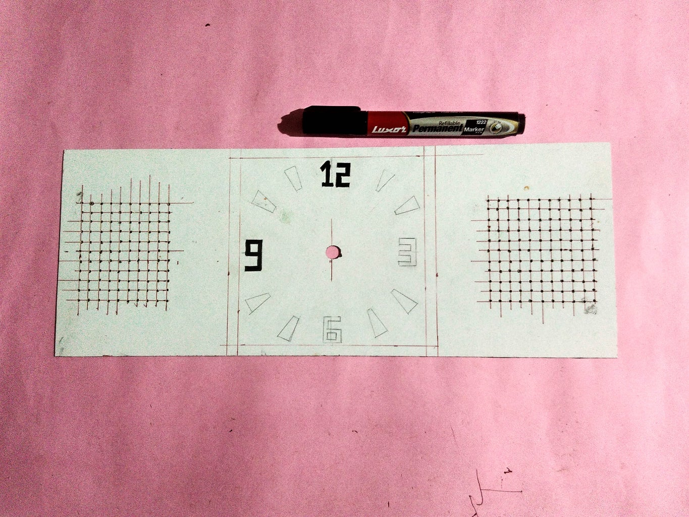 Designing the Face of the Clock.