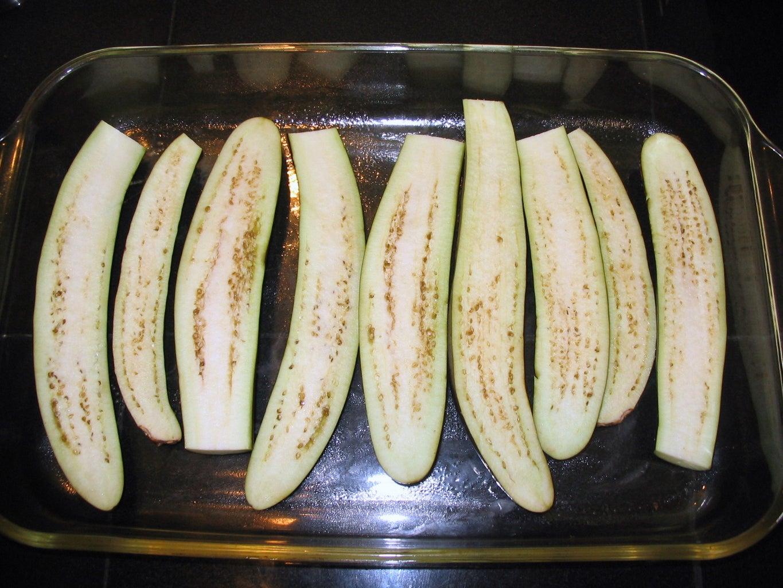 Prepare Eggplant