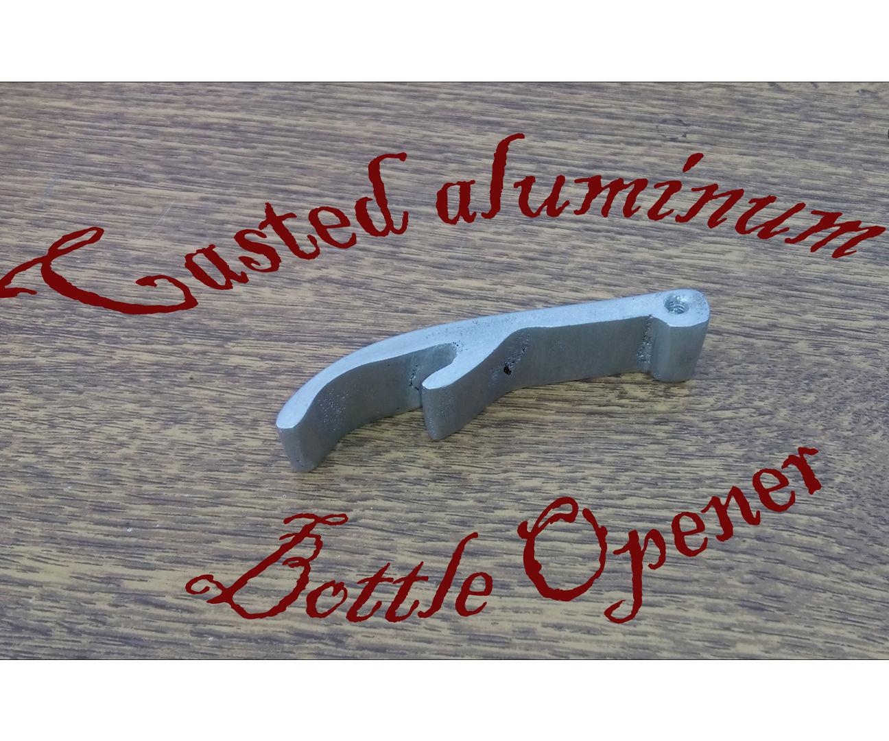 Bottle Opener. Lost Foam Metal Casting