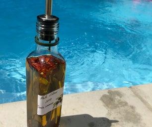 地中海风格辛辣橄榄油