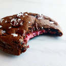 Strawberry Truffle Chocolate Cookies