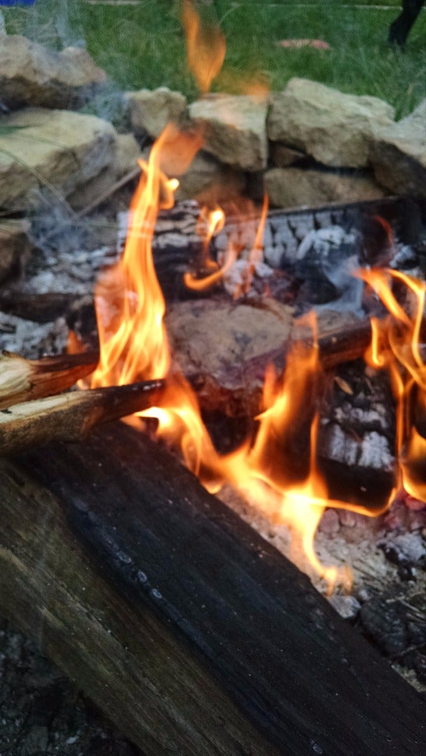 Season and Sear the Steak (red Hot Coals)