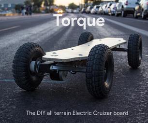 扭矩:DIY所有地形电动长板