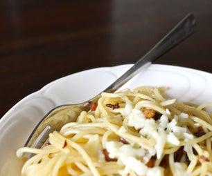 Spaghetti Aglio E Olio for One