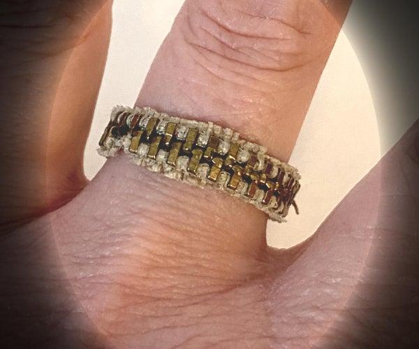 Easy Peasy Zipper Ring