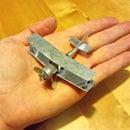A Tiny Metal Biplane