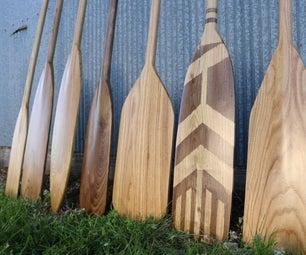 One-Piece Canoe Paddle