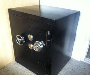 Restoring an Old Safe