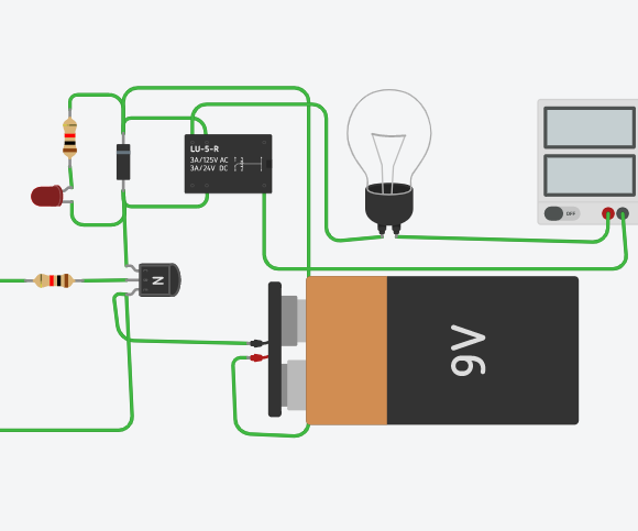 Interfacing Relay With Arduino in TinkerCad