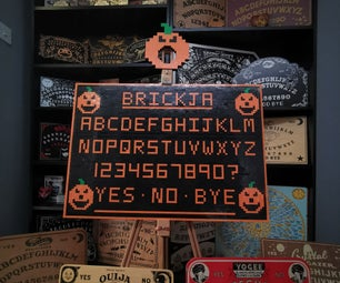 Brickja: Halloween Lego Ouija Board