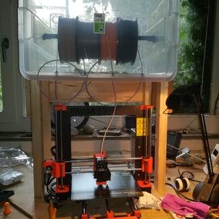 3D Printer Filament Dry Box
