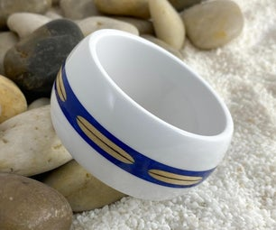 "Surfboard Bangle ""Surf's Up"""
