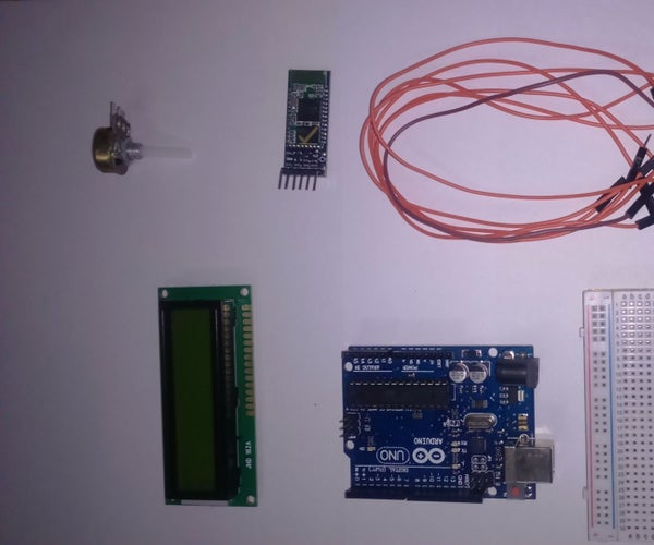 LCD WITH BLUETOOTH