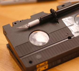 Plastic Windows for Two Main Holes in Cassette