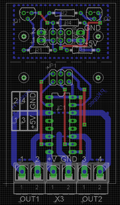 Motor Driver and Power Supply