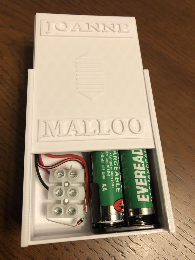 Housing for a Solar Battery Charger