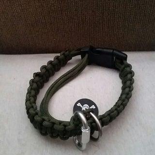 Adjustable Paracord Dog Collar