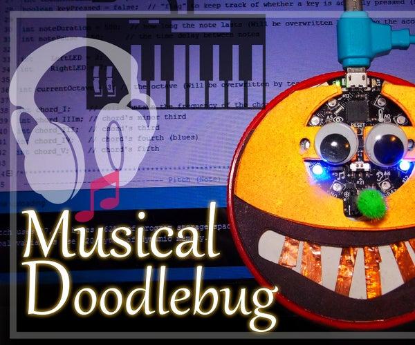 Musical DoodleBug on Circuit Playground