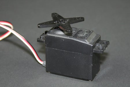 Attach the Servo to the Button