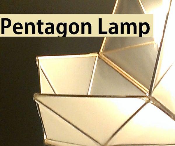 DIY Pentagon Lamp
