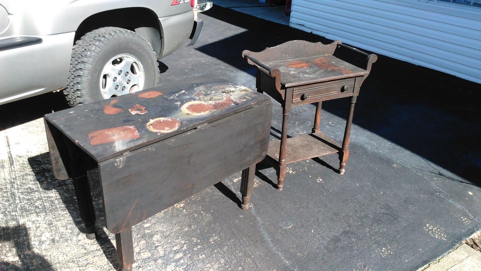 The Smoke Damaged Furniture