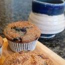 Gluten Free Wild Blueberry Muffins