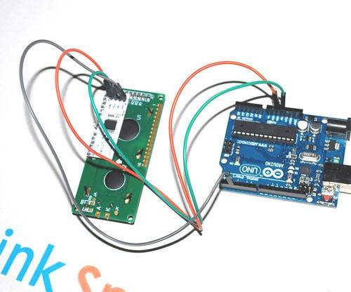 Using Serial UART 16 × 2 LCD on Arduino