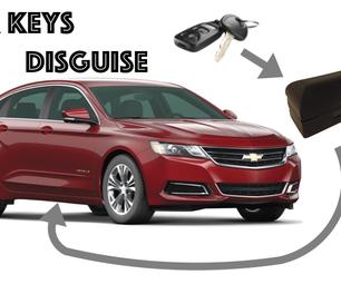 汽车钥匙伪装!