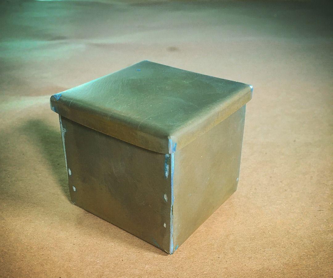 New Antique Brass Box