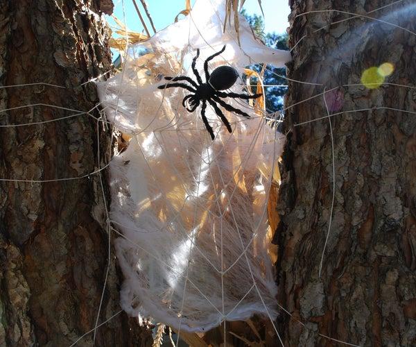Wicked Halloween Spider Web