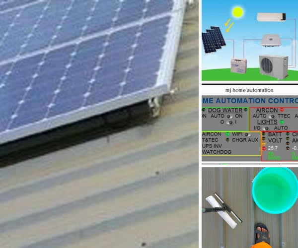 Solar Powering Home & AC by Solar Powering My Home! by Mjtrinihobby