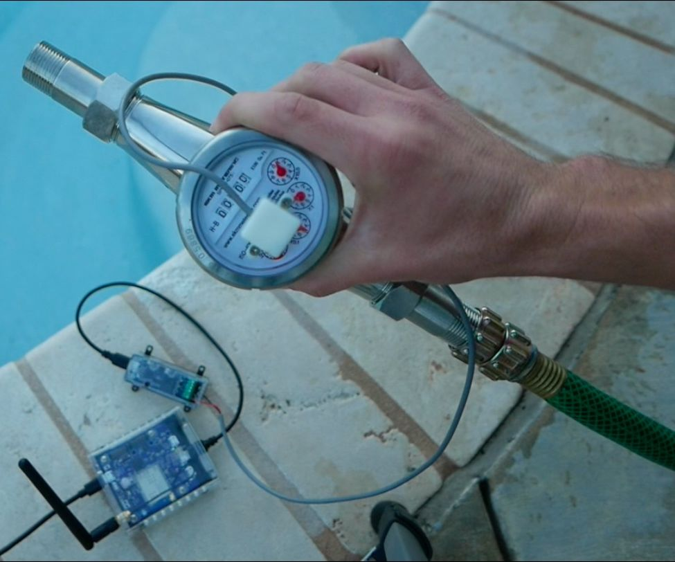 Water Monitoring Systems, Flow Meters, & IoT Measuring Water Usage Sensors for Water Resources Management