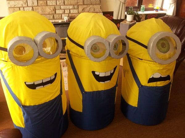 DIY Adult (Thanksgiving Fancy Dress Idea) Fancy-dress Minion Costume (Despicable Me)