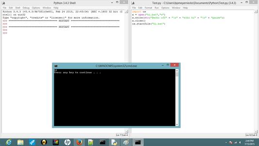 Run the Python Program