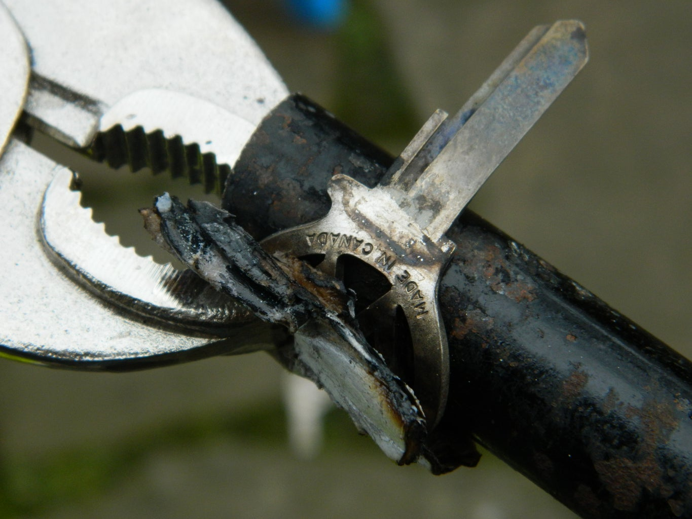 Clamp and Hammer