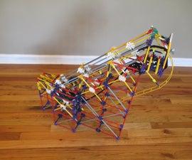 Rollercoaster Push Lift: a K'nex Ball Machine Lift
