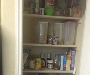 Expanding My Kitchen Pantry
