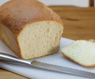 易令人惊叹的白面包配方