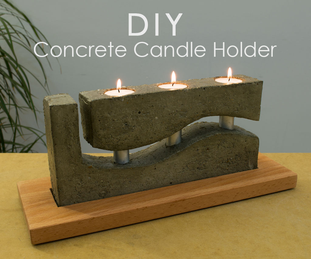 Diy Concrete Tea Light Candle Holder 9 Steps With Pictures Instructables