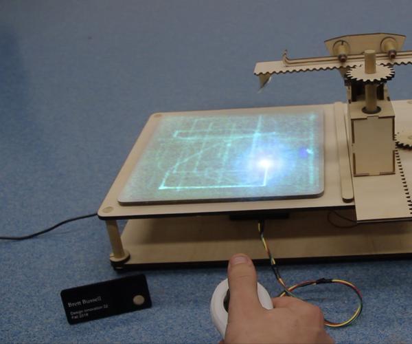 Laser Drawing Machine