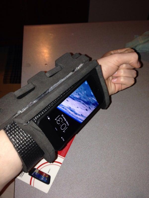 Scifi Computer Vambrace