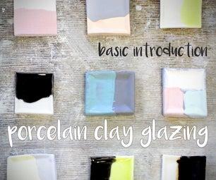 Porcelain Clay Glazing - Basic Introduction