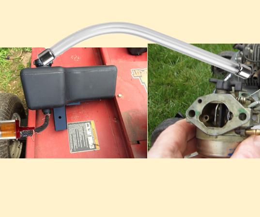 Fix Mower Carburetor With Household Garbage