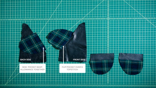 SEWING AN INVISIBLE POCKET