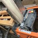 Rough cut wood