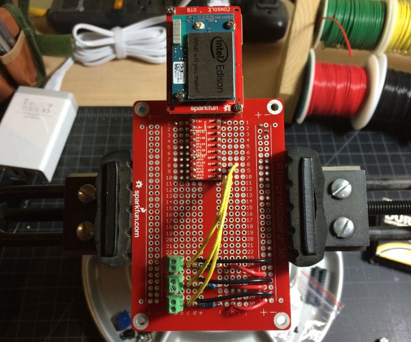Intel Edison Garage Monitor and Alert System